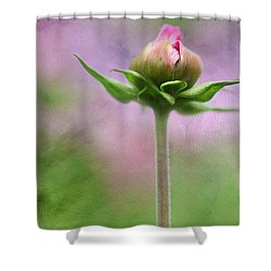 Shower Curtain featuring the photograph Only One by Annie Snel