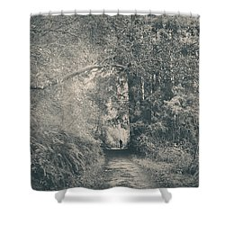 Only Peace Shower Curtain by Laurie Search