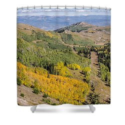 Only The Beginning Shower Curtain by Sue Smith