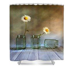 Only Two Shower Curtain by Veikko Suikkanen