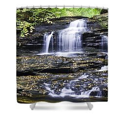 Onondaga Falls Shower Curtain