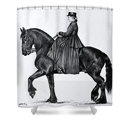 Onyx Shower Curtain