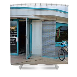Open For Business Shower Curtain by Bob Sample