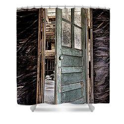 Open Door Shower Curtain by Caitlyn  Grasso