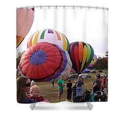Open Field Shower Curtain