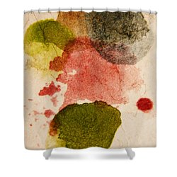 Open Heart Shower Curtain