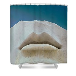 Open Mind Shower Curtain