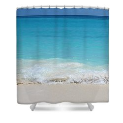 Open Waters Shower Curtain