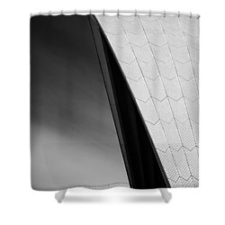 Opera House Shower Curtain by Dave Bowman