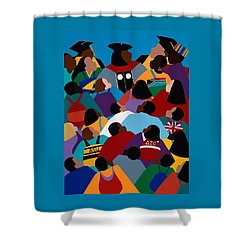 Opportunity Is Here Asu Shower Curtain