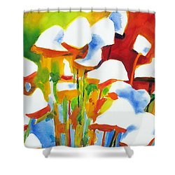 Opposites Attract Shower Curtain