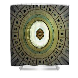 Optical Illusion  Shower Curtain