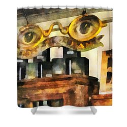 Optometrist - Spectacles Shop Shower Curtain by Susan Savad
