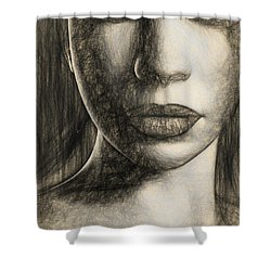 Oracle Shower Curtain by Bob Orsillo