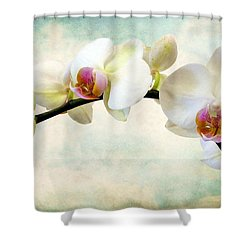 Orchid Heaven Shower Curtain