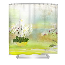 Orchids - Limited Edition 1 Of 10 Shower Curtain