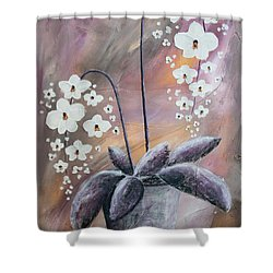 Orchids Shower Curtain by Home Art