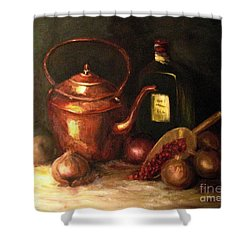 Ordinary Pleasures Shower Curtain