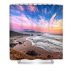 Oregon Sunset Shower Curtain