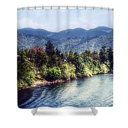 Oregon Views Shower Curtain by Melanie Lankford Photography