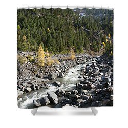 Oregon Wilderness II Shower Curtain by Peter French