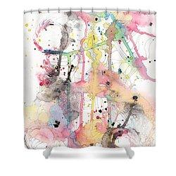 Organic Clash Shower Curtain