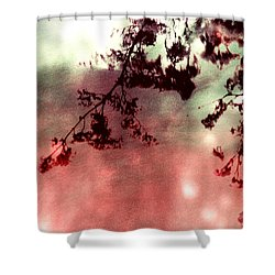 Organic Impressions Shower Curtain by Shawna Rowe