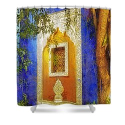 Oriental Mood Shower Curtain by Mo T