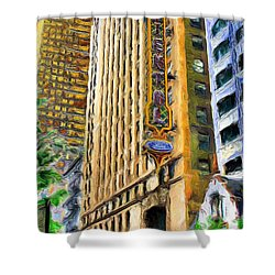 Oriental Theater Of Chicago Shower Curtain
