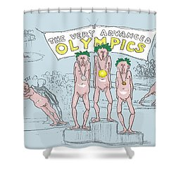 Original Olympics Shower Curtain