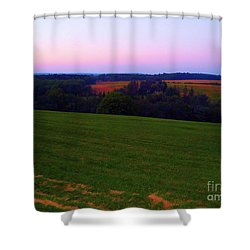 Shower Curtain featuring the photograph Original Woodstock Concert Site - Back To The Garden by Susan Carella