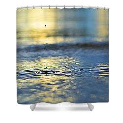 Origins Shower Curtain by Laura Fasulo