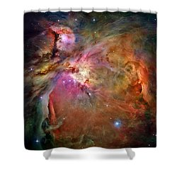 Orion Nebula Shower Curtain by Benjamin Yeager