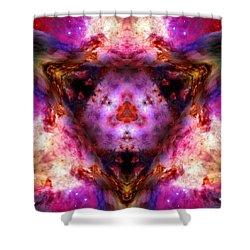 Orion Nebula Vi Shower Curtain