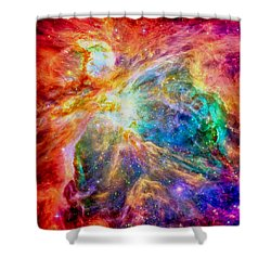 Orions Heart-where The Stars Are Born Shower Curtain