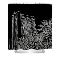 Orleans High Rise Shower Curtain by Joseph Baril