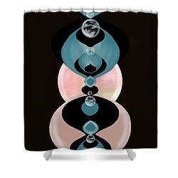 Ornamental Shower Curtain by Christine Fournier