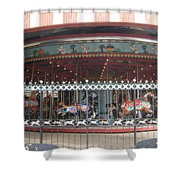 Shower Curtain featuring the photograph Ornamental Fence by Barbara McDevitt