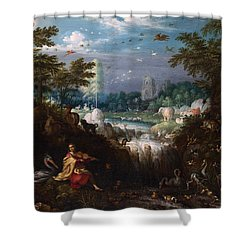 Orpheus Shower Curtain