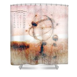 Orrery Shower Curtain by Bob Orsillo