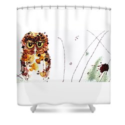 Oscar Shower Curtain