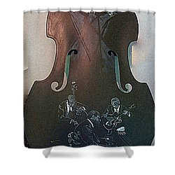 Oscar Peterson Trio Shower Curtain