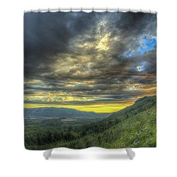 Oso Valley Shower Curtain
