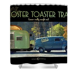 Oster Toaster Trailer Shower Curtain by Tim Nyberg