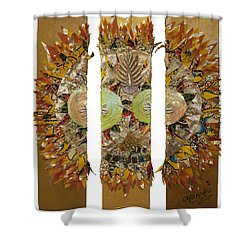 Osun Sun Shower Curtain