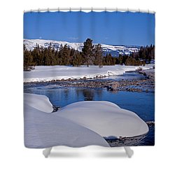Shower Curtain featuring the photograph Otter Creek by Jack Bell