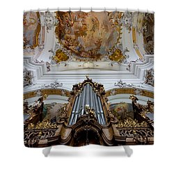 Ottobeuren Ornaments Shower Curtain