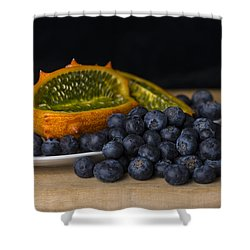 Ouch And Yum Shower Curtain