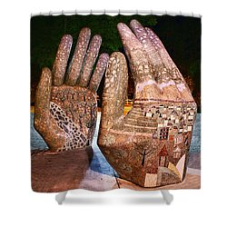 Our Hands Shower Curtain
