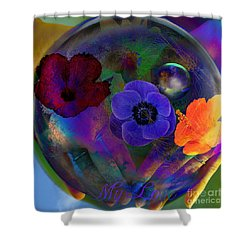 Our Nature Of Love Shower Curtain